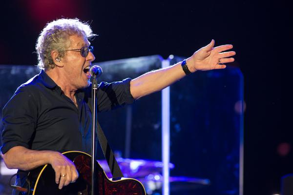 O vocalista Roger Daltrey, do The Who.