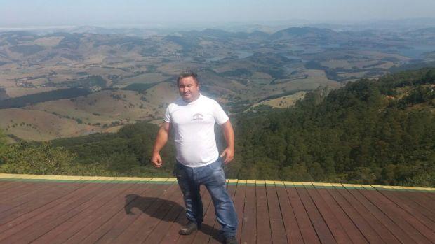 Cidão, nosso guia no Pico do Lopo.