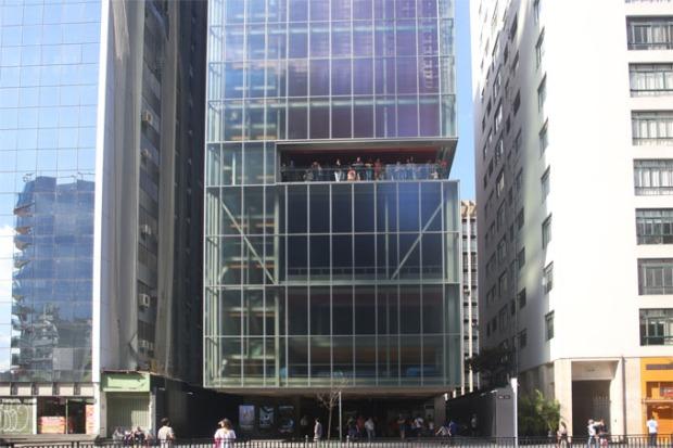 O novo prédio do IMS de São Paulo.