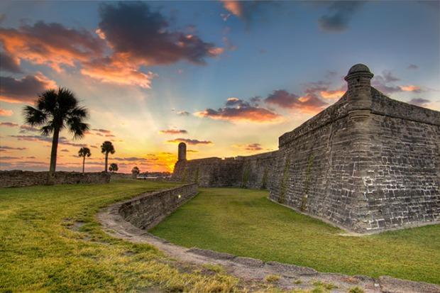 Forte San Marcos, na cidade de St. Augustine.