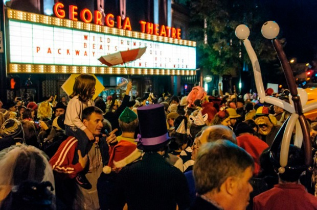 Wild Rumpus Halloween Parade and Spectacle, Athens (GA).