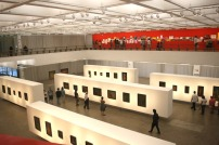 Neste momento está acontecendo a exposição de Pedro Correia de Araújo.