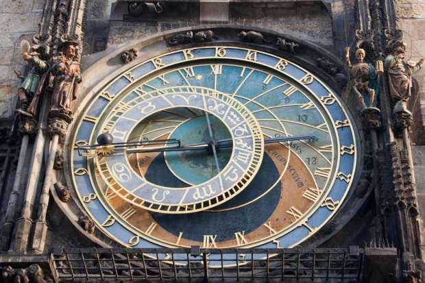 Relógio da Cidade Velha de Praga.