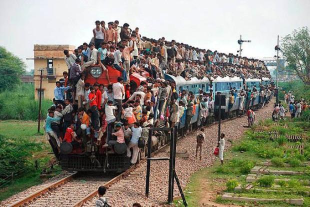 Temos que exigir transporte digno no Brasil.