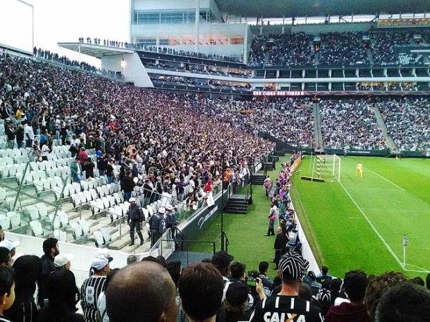 Arena Corinthians. Perdoem as fotos de celular.