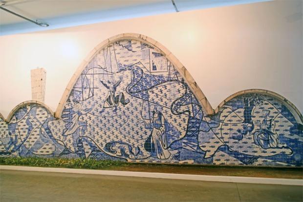 Igreja de São Francisco de Assis, na Pampulha, Belo Horizonte. Projeto de Oscar Niemeyer.