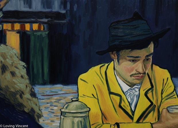 As telas de Van Gogh foram transportadas para um filme, com 66 mil pinturas para criar as imagens e depois criar o processo de animação.