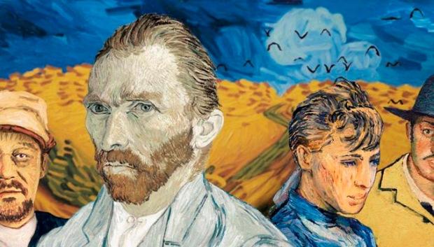 O retrato de Vincent Van Gogh em Com Amor, Van Gogh.