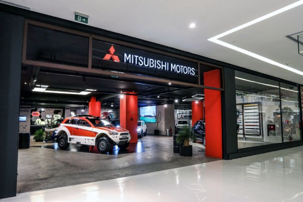 MIT Point é a flagship store da Mitsubishi Motors.