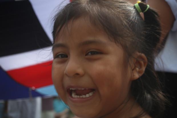 Sorria! Você está na Marcha dos Imigrantes!