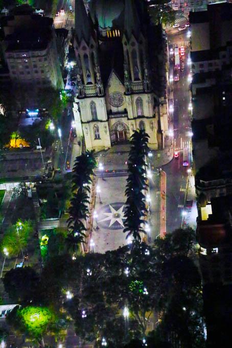 Praça e Catedral da Sé - Centro de São Paulo.