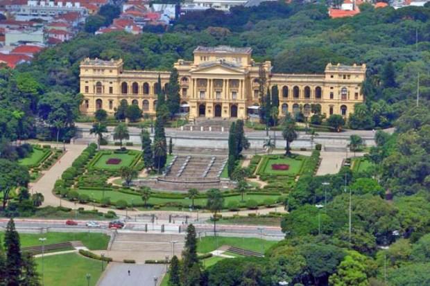 Museu do Ipiranga, também conhecido como Museu Paulista.