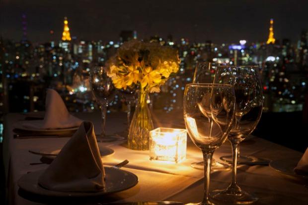 Vista do Terraço Itália - Centro de São Paulo.