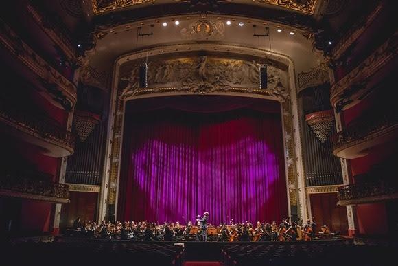 Orquestra Sinfônica Municipal de São Paulo. Fotos: Camila Cara