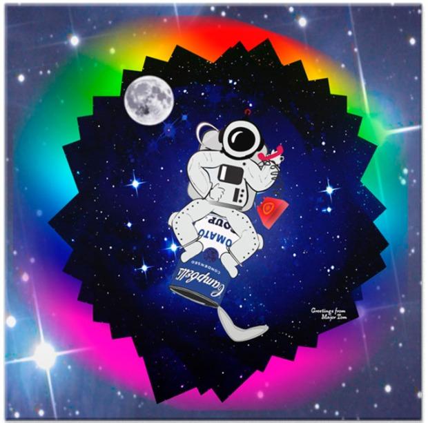 Azulejo para botar as estrelas na sua parede.
