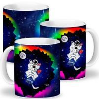 Canecas do Astronauta. Que será que você está bebendo?