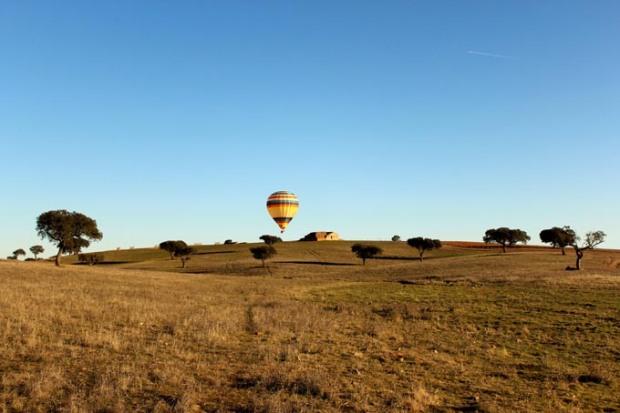 Passeio de balão pelo Alentejo - Crédito - Vila Galé Clube de Campo