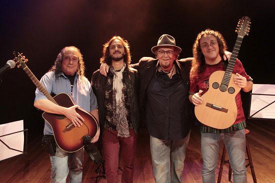 Quarteto faz dois shows no Teatro da Unidade, com participação de Zé Geraldo