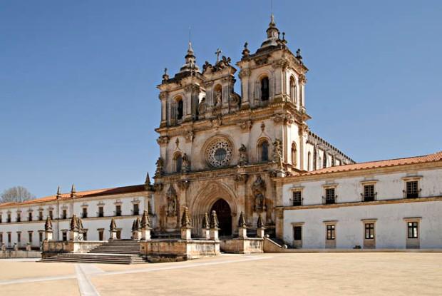 Mosteiro de Santa Maria de Alcobaca, região do Centro de Portugal.Fundada pelo Rei português Afonso Henriques em 1153.