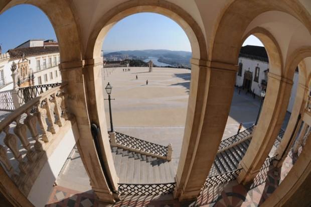Universidade de Coimbra, Centro de Portugal.