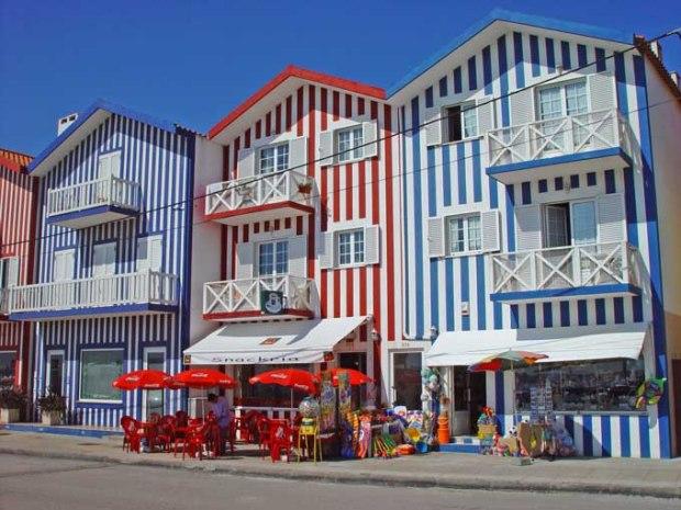 Praia Costa Nova - Centro de Portugal.