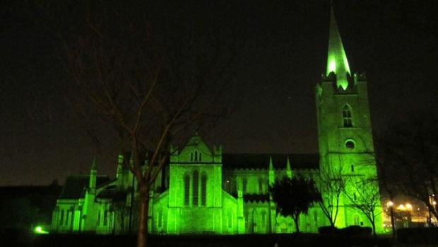 Catedral de St. Patrick's em Dublin, Irlanda.