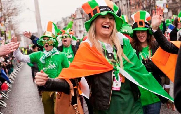 Parada de St Patricks Day - Irlanda.
