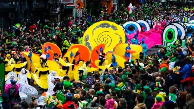 Parada de St. Patrick's Day - Irlanda.