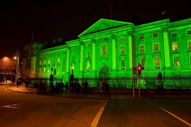 Colégio Trinity, em Dublin Irlanda.
