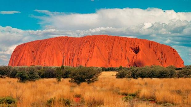 O Coração da Austrália.