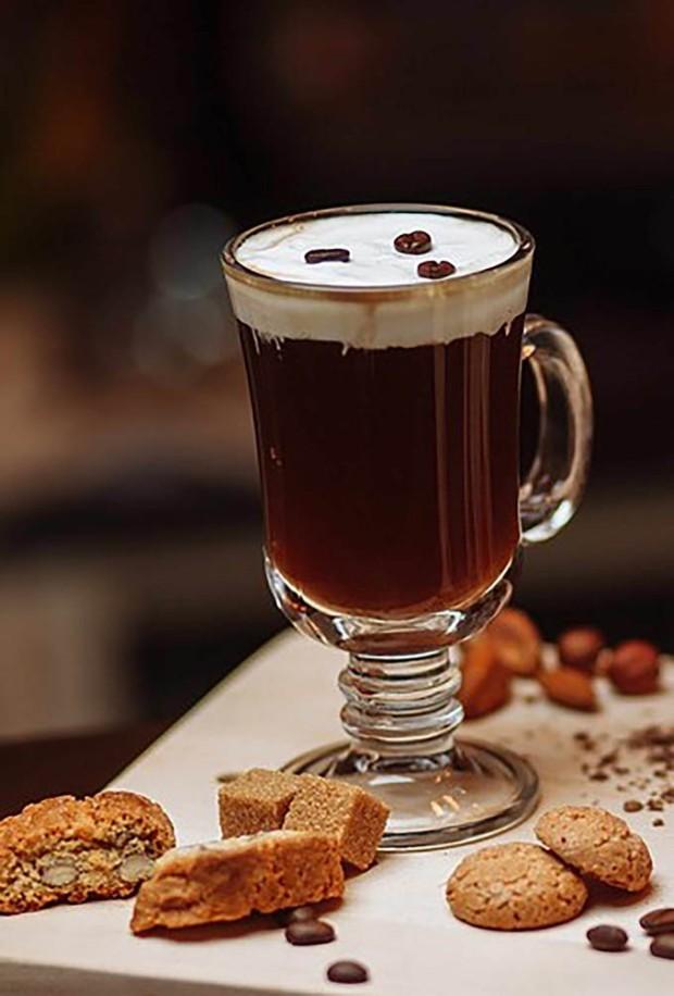 Irish Coffee do Santa Satisfação. Confira mais abaixo.