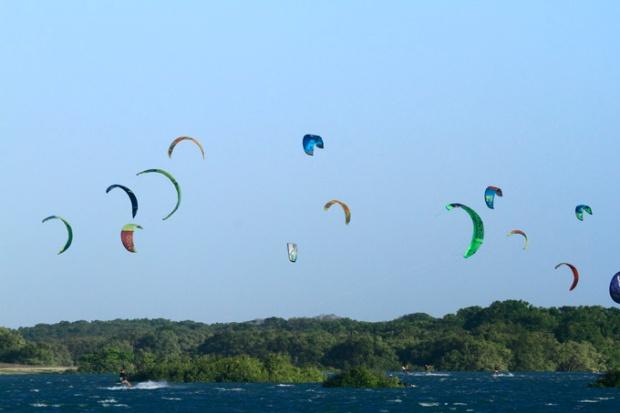 Destinos para kitesurf ganham cada vez mais visibilidade no cenário nacional - Barra Grande - Piauí
