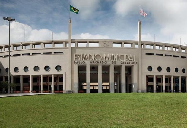 Museu do Futebol, no Estádio do Pacaembu