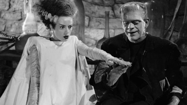O monstro assustador voltaria às telonas em A Noiva de Frankenstein.