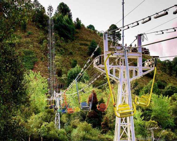 Teleférico do Parque do Capivari até o Morro do Elefante.