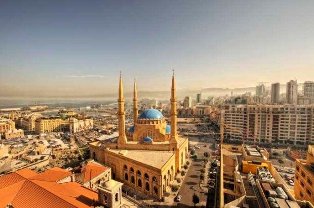 Exemplo da arquitetura libanesa.