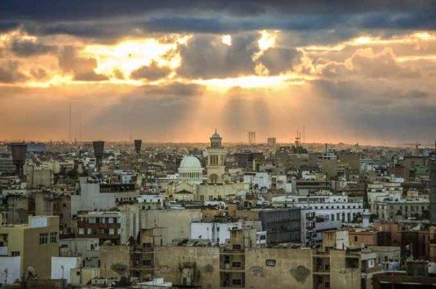 Trípoli, capital da Líbia.
