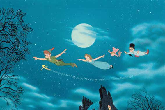 Peter Pan - You Can Fly Clip – 1953.