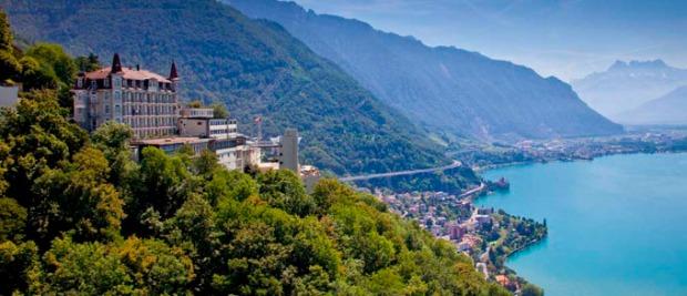 As lindas paisagens da Suíça já serviram de locação para star Wars.