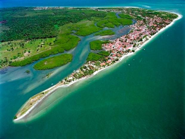 Foto aérea do município de Vera Cruz.