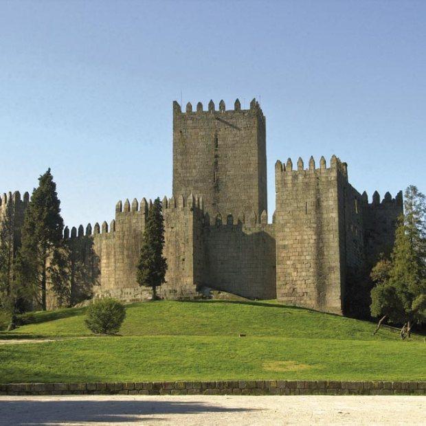 Castelo dos Guimarães, Portugal.