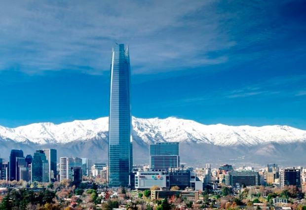 Cidade tem como pano de fundo a imponente Cordilheira dos Andes