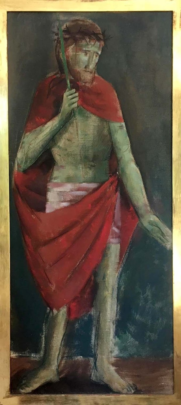 Jesus Cristo Verde - Exposição Emeric Marcier