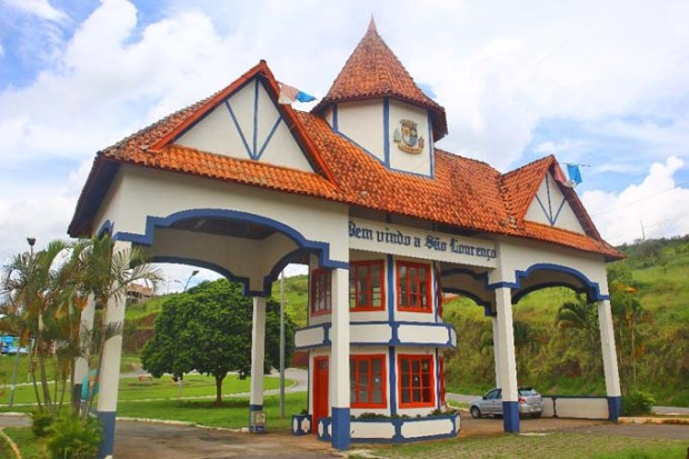 Portal de Entrada de São Lourenço de Minas Gerais.